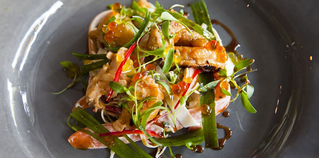 Asian Style crayfish salad