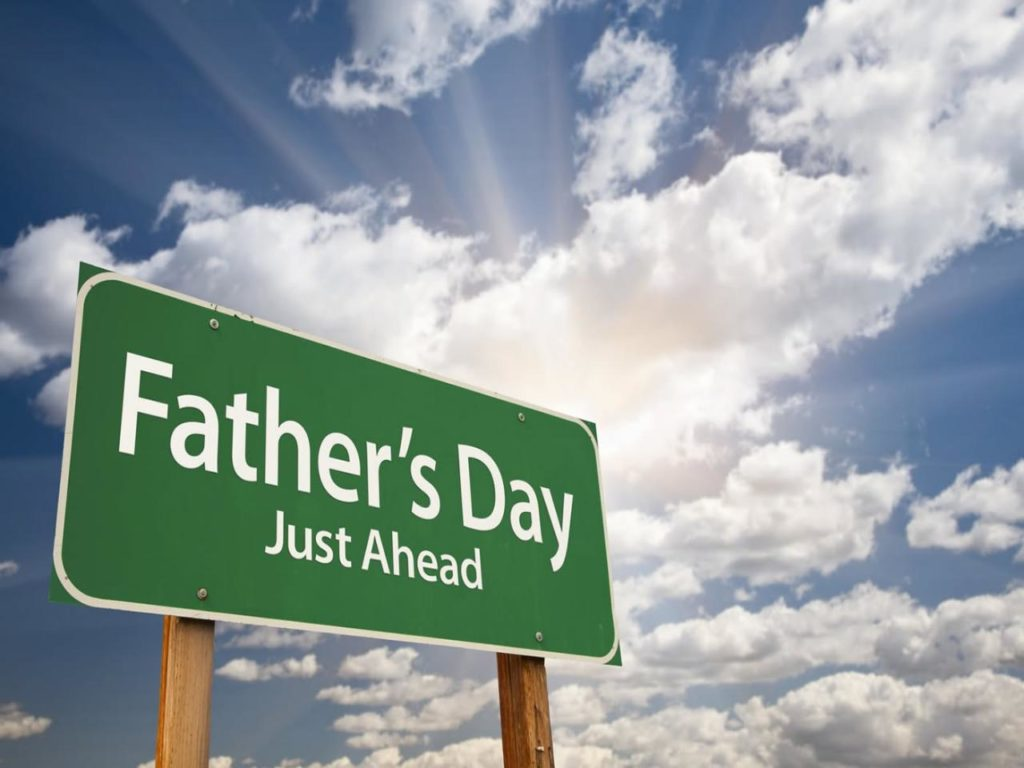 Fathers-Day-Just-Ahead-Sign-Board
