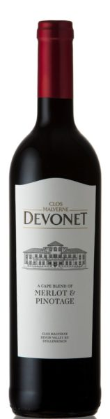 Clos Malverne Devonet Range – Merlot Pino